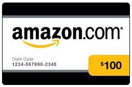 $100 Amazon Gift Certificate