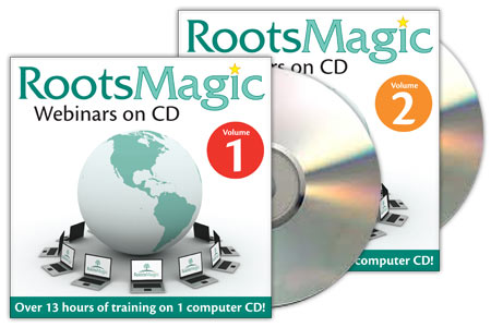 RootsMagic Webinars on CD