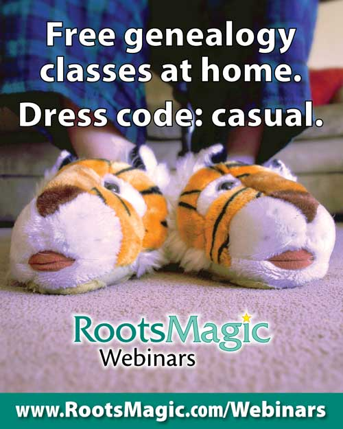 RootsMagic Webinars