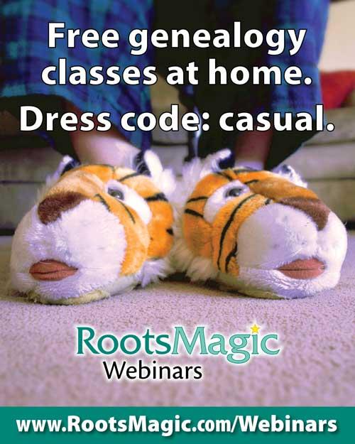 RootsMagic Webinars