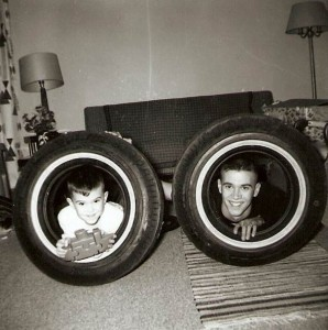 Christmas Tires by Rick D. Harms