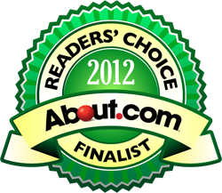 2013 About Genealogy Readers' Choice Awards Finalist