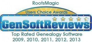 GenSoftReviews RootsMagic 2013