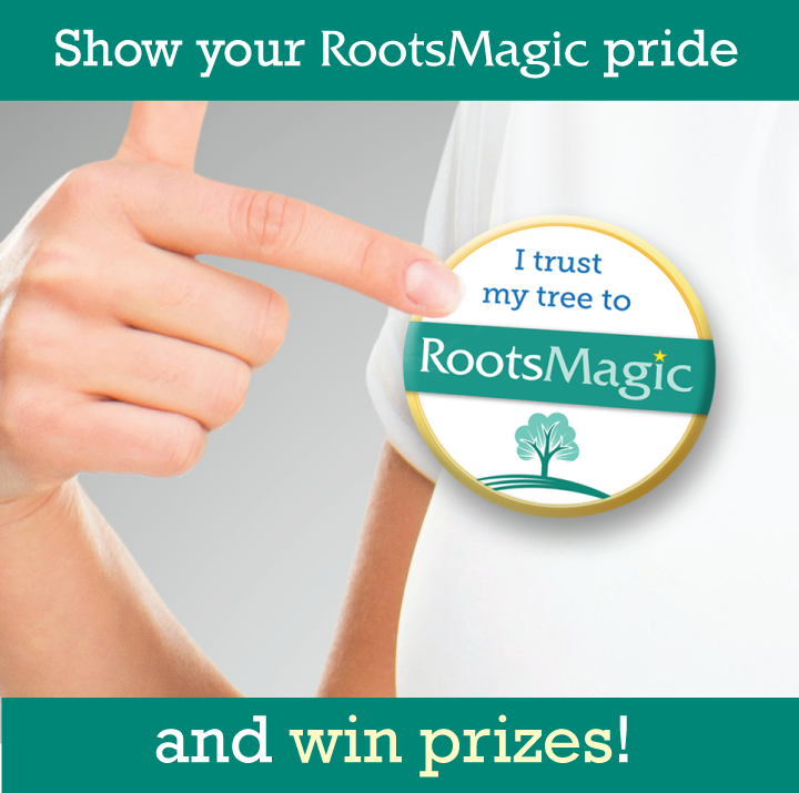 Show your RootsMagic pride and win prizes!