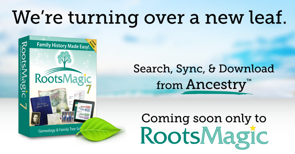 Search, Sync & Download from Ancestry