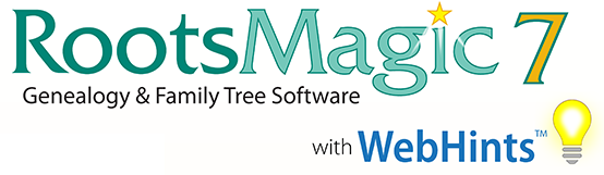 RootsMagic 7 with WebHints