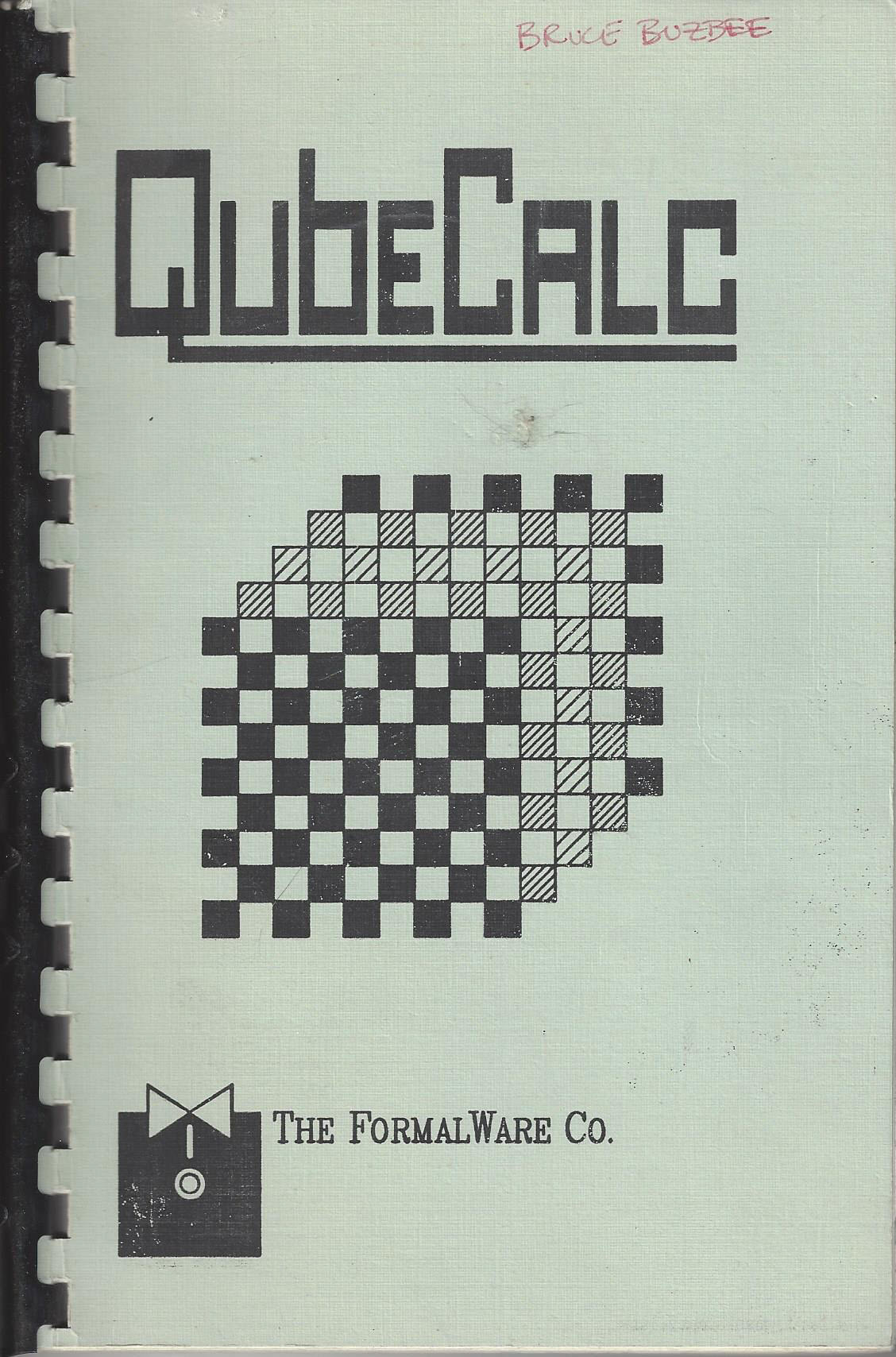 FirstQubeCalcManual